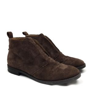 Franco Sarto ISOLDE Brown Suede Ankle Boot 7.5